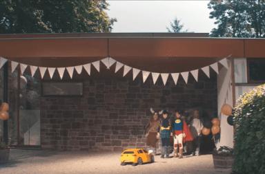 campaña transformers golf niño robot creatividad