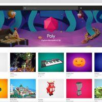 """Google ha lanzado """"Poly"""" una librería para objetos VR y AR"""