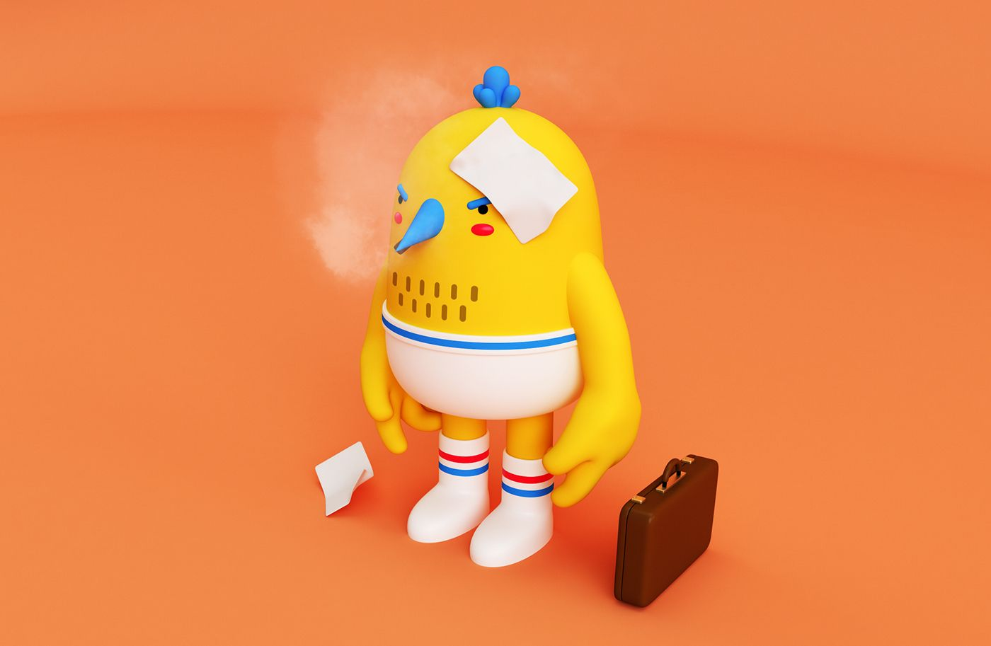 https://www.behance.net/gallery/58531667/3D-CHARACTERS