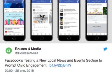 Noticias locales y confiables Facebook