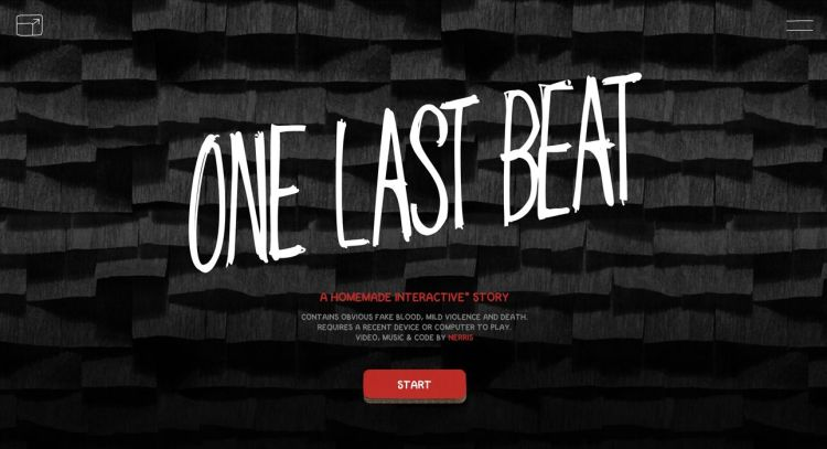 one last beat, historia interactiva