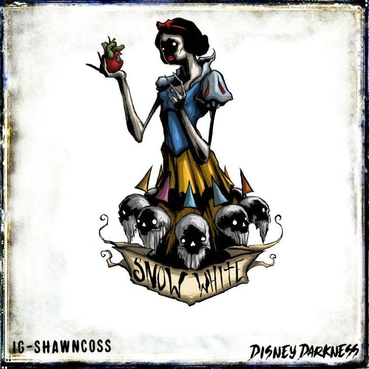 princesas disney terrorificas