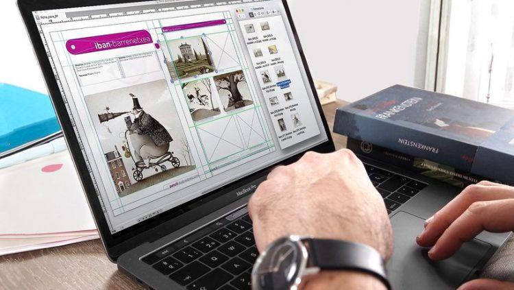 Diseñarás tu portafolio profesional a partir de tus propias ilustraciones.
