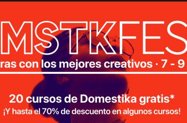 oferta cursos domestika diseño gratis