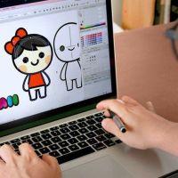 Diseño de personajes estilo kawaii
