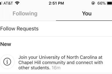 Instagram Universidades grupos