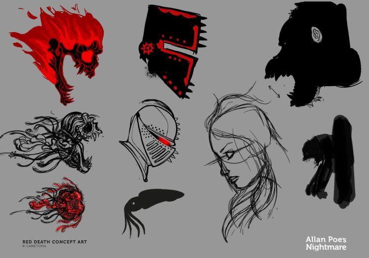 Allan Poe´s Nightmare videojuego