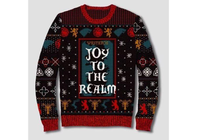 jersey navideño juego de tronos