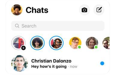 Novedades messenger Facebook