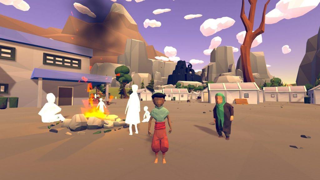 videojuego massira art lowpoly