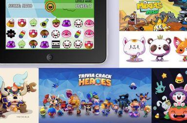 Diseño personajes videojuegos apps