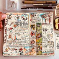 Cuadernos de viaje ilustrados