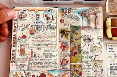 travel book ilustrado