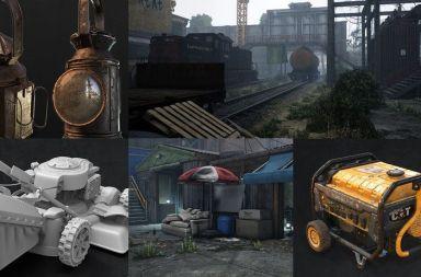 Creación de props realistas para videojuegos