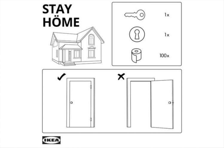 quédate en casa Ikea creatividad