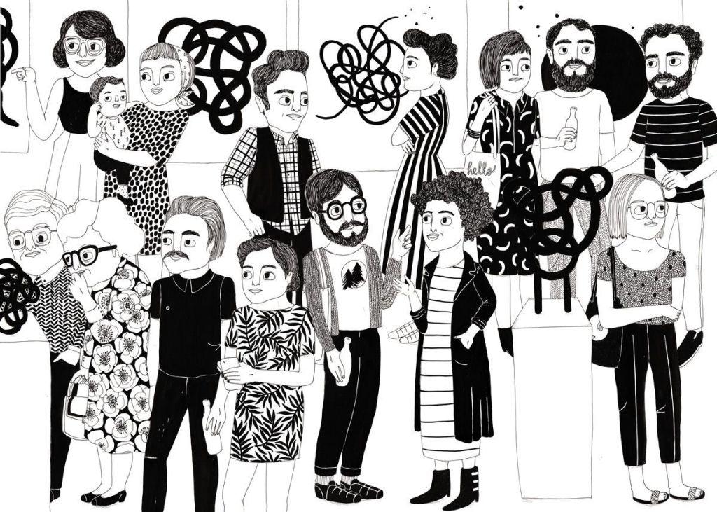 ilustraciones primera vez Moritz