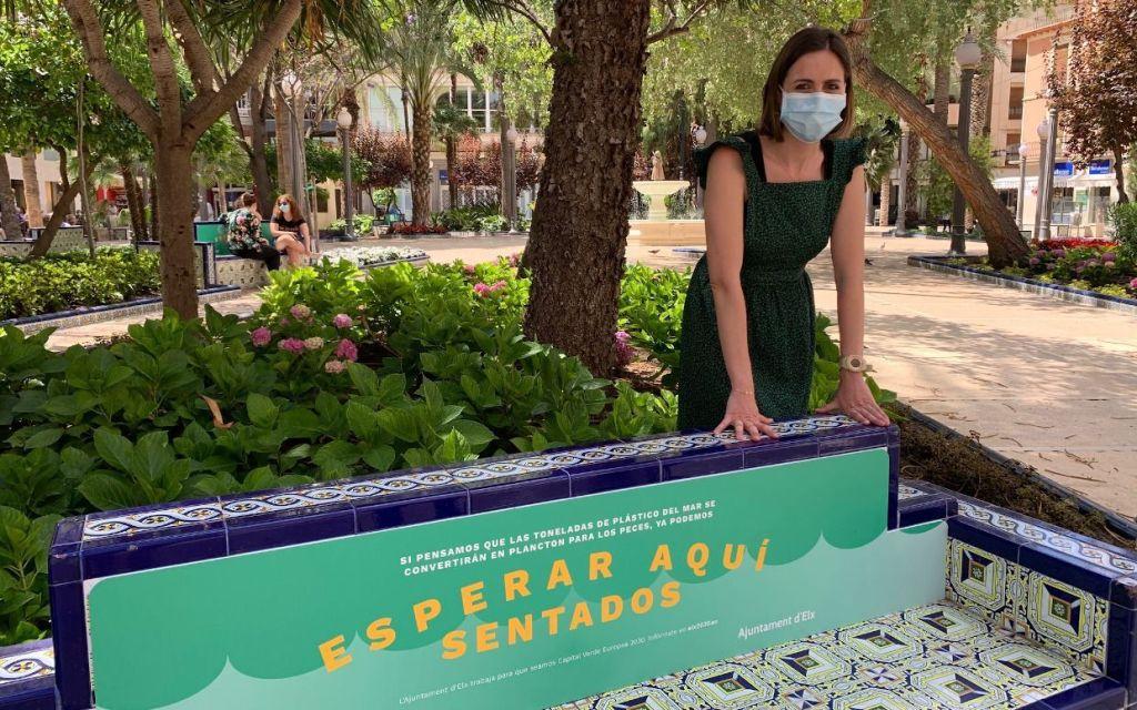 esperar sentado, campaña dia mundial del medio ambiente elche