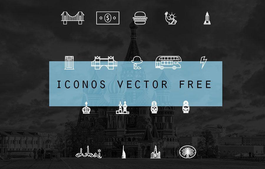 Pagar con un Tweet para descargar Descargar Iconos de Ciudades