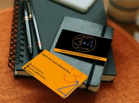 Mockup tarjetas presentación