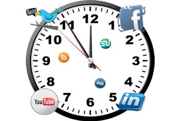 El horario ideal para publicar en tus redes sociales