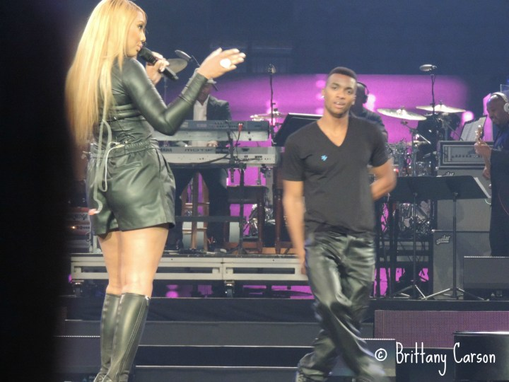 """I am a """"Tamartian"""" so I was super excited when Tamar Braxton hit the stage looking fierce as usual!"""