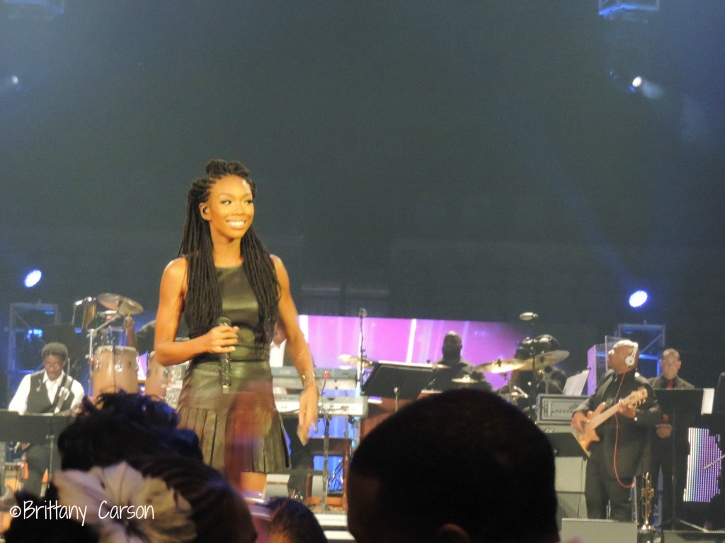 Surprisingly I was not impressed by Brandy's performance. I used to love her music when I was younger. Her new sound does not connect with me.