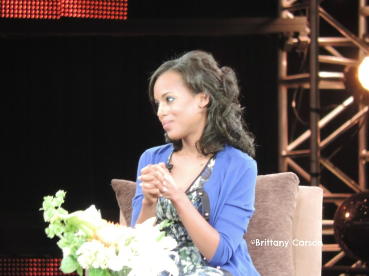 Actress Kerry Washington better known as Scandal's Olivia Pope speaking about how she balances her faith and her career.