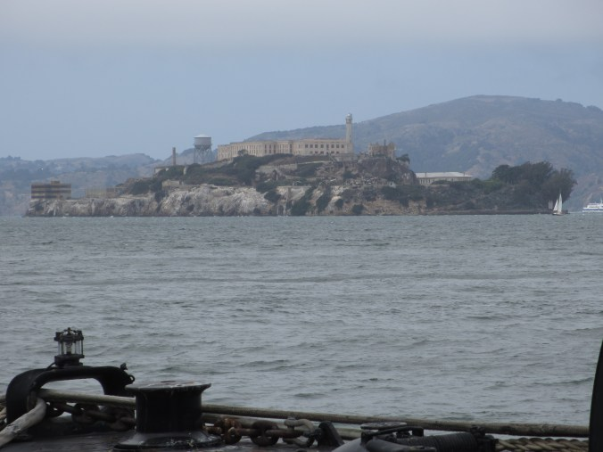 Alcatraz in the distance