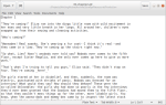 Plain text editor