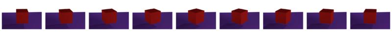 Unique cube orientations