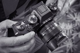 One aspect I really enjoyed about the X-T1 review loaner that I borrowed from Fujifilm Australia a while back is its design, so reminiscent of some of the classic Zeiss Contax 35mm SLR cameras like the N1.