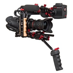 JVC GY-LS300 4K camcorder in Zacuto Recoil rig