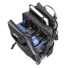 Think Tank Photo's StuffIt! belt pack clips over the waist belts of more bag systems than Think Tank's one, and is invaluable for carrying personal items as well as small pieces of photography or video equipment.