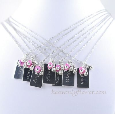 Personalized Necklaces – My latest Custom Engraving Order
