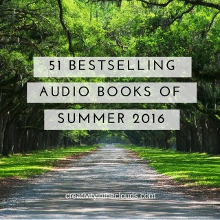 Bestselling audio books summer 2016