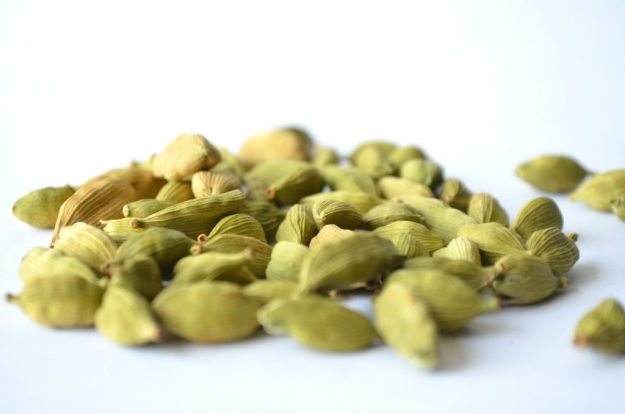 Cardamom seeds for essential oil.