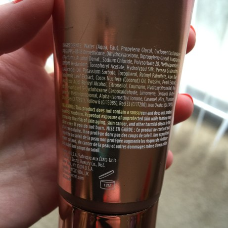 Victoria's Secret Self Tanning Lotion Review