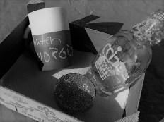 Tasse und Flasche