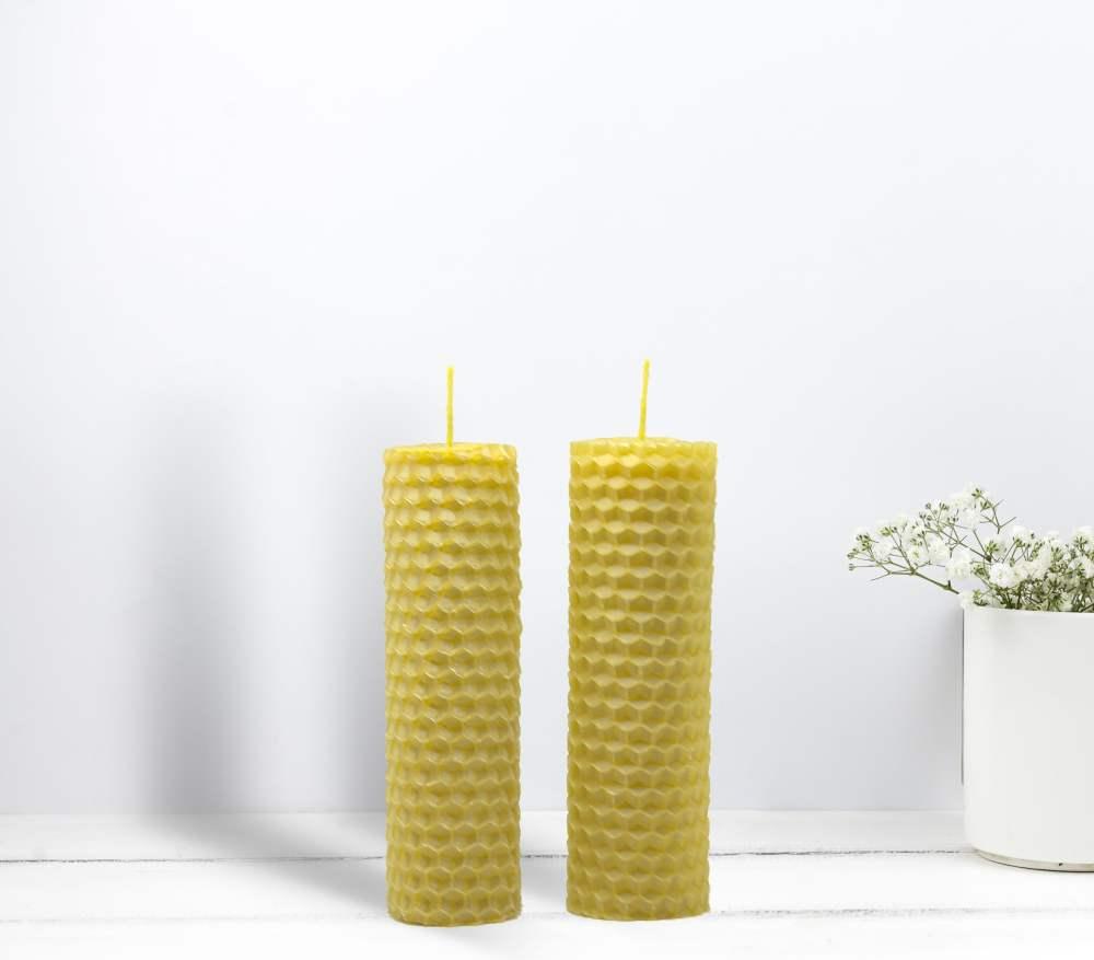 Восъчна свещ 19