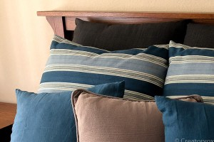 How To Free-Up Storage Space By Making Throw Pillows