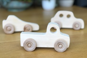 Make A Wooden Toy Car With A Few Simple Tools
