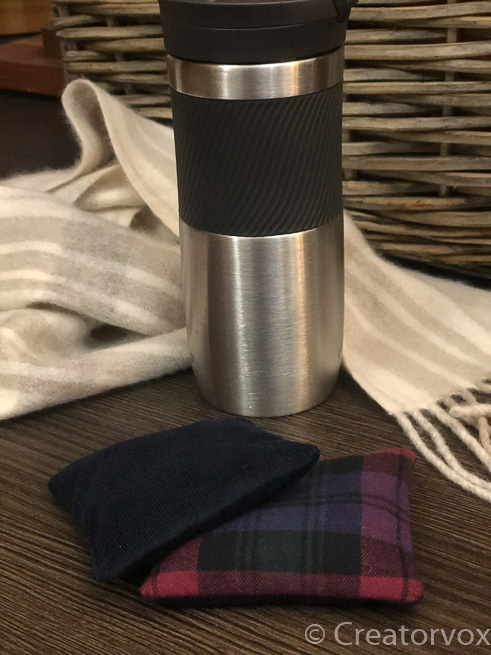 pocket hand warmers with travel mug