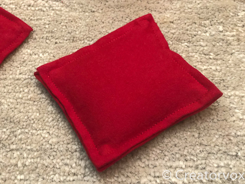 red flannel pillow style pocket hand warmers_
