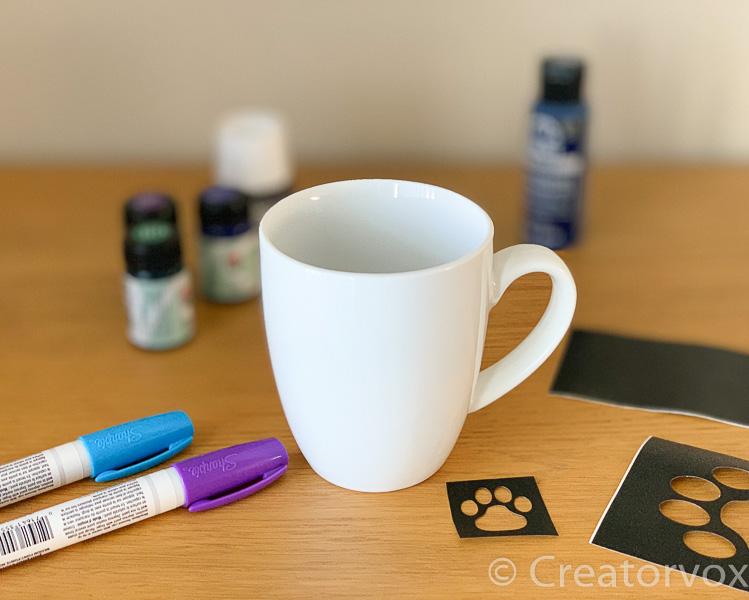 Personalized Airbrush Tink Ceramic Coffee Mug