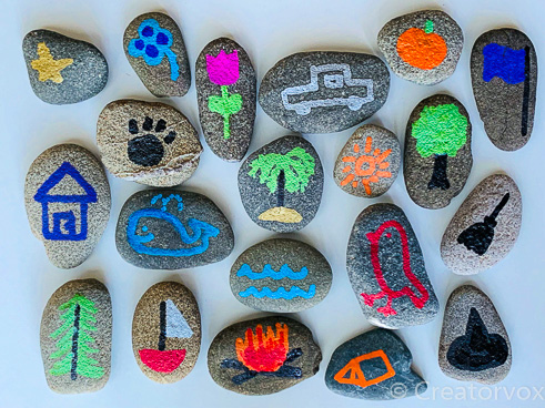 set of story stones