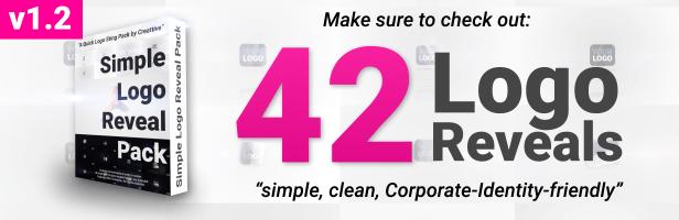Clean Glitch Logo - 1