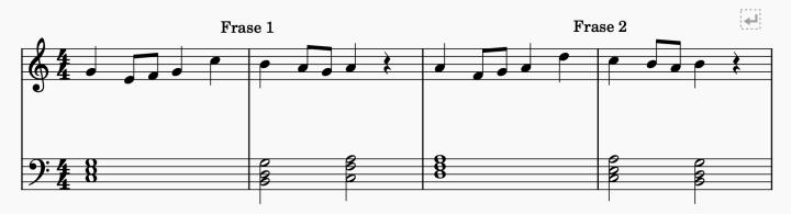 Qué es la melodía - Frase