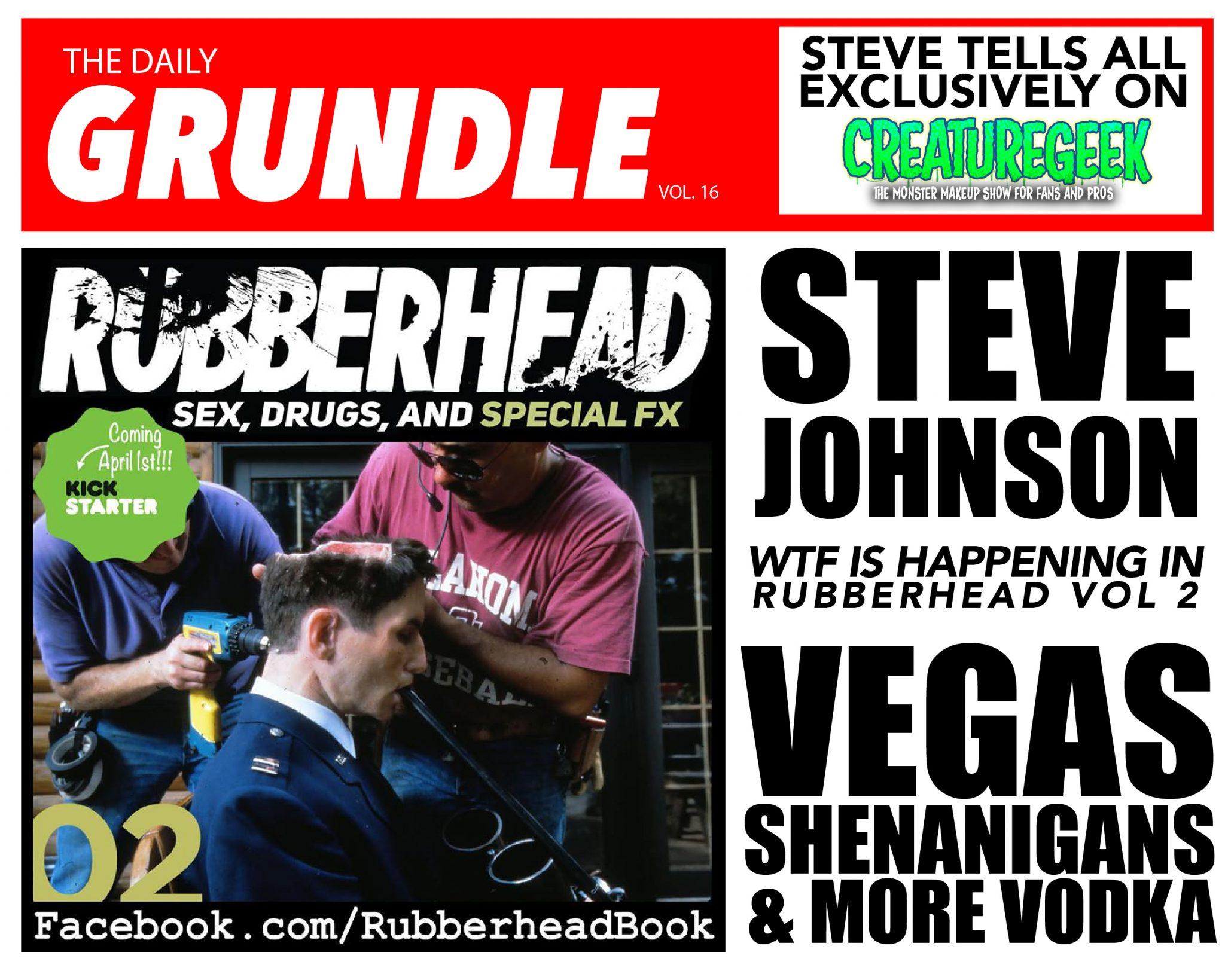Ask Steve Johnson Anything! - Creature Geek : Episode 86