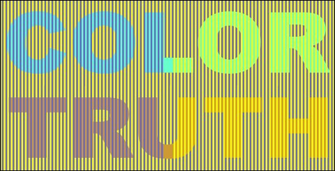 color truth new