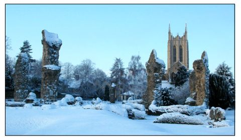 bury st edmunds snow andrew brown 2009 st edmundsbury cathedralXb